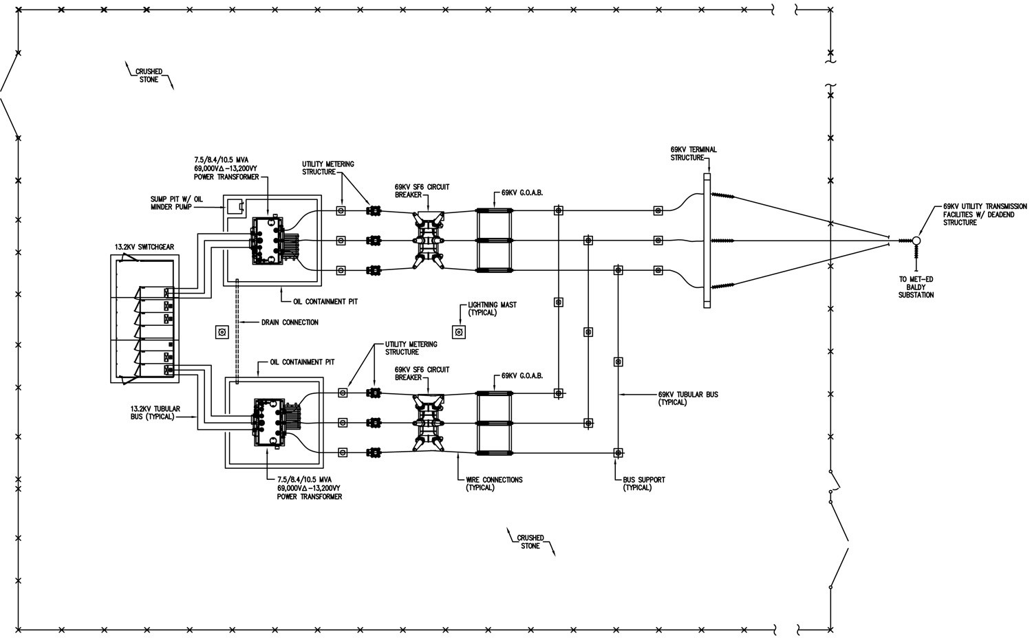 Substation Schematic Diagram    Wiring Diagram